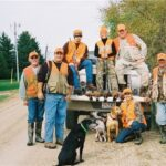 Hunters and Bird Dogs at Texsota Outfitters